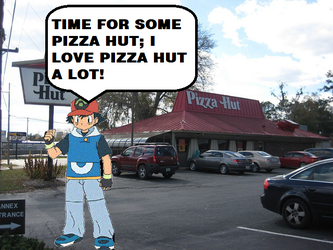 Ash Goes To Pizza Hut by MollyHaleIsMyFriend