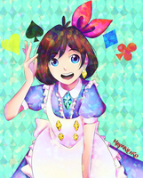 Trucy in Gramaryeland by Mayaneiro