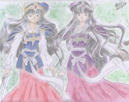 Clons_kagome_y_kikyou_movie4 by Gaias
