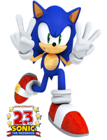 Sonic's 23rd! by Nibroc-Rock