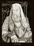 Albus Dumbledore by Ellygator
