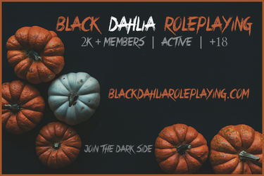 Pumpkin 2000 Members Advert by BlackDahliaRP