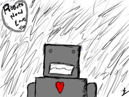 Robots need love too by Omgitschucknorris
