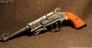 Mal's Pistol from Firefly by JohnsonArmsProps