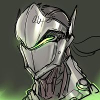 Genji - Overwatch by ManiacPaint