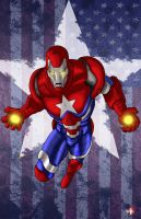 Iron Patriot by WiL-Woods