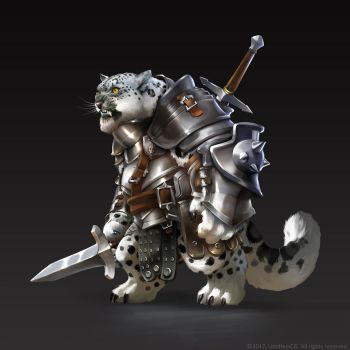 Leopard Knight by basotahuikan