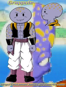 DBZ Fusion: Gure and Appule by Tekkaman-James