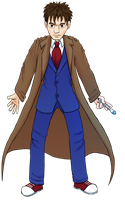 10th Doctor by Obisam