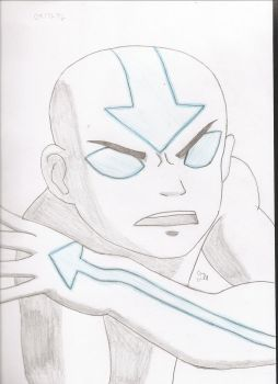 Day 40: Avatar Aang by cycoclash25
