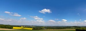 Cloudy panorama by mprangenberg