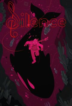 Silence Cherry Cover by cheshirecatart