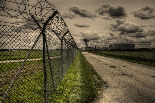 restricted area - airport by hans64-kjz