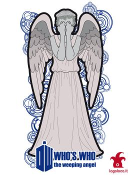 Doctor Who: Who's Who, the weeping angel by logolocoadv