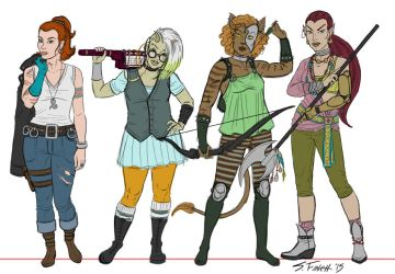 Reworking Female Characters by Shannanigan