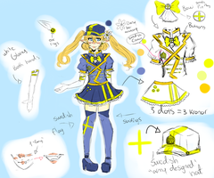 UTAU Aino Erufu Swedish  CVVC design + VB DL by Pastelli-kiwi