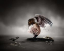 Fallen Angel by MelFeanen