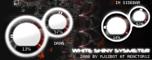 WhiteShinySysmeter by r12-vs-mj12