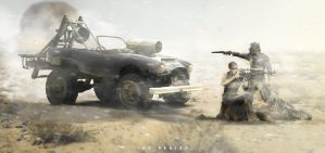 AC COBRA for MAD MAX movies! by erpydesign