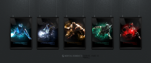Mortal Kombat X Frames (Part II) by Junleashed