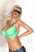 It's a Blondes World Baby by RGUS