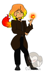The Dethroned King Of Fuoco {COLE REDESIGN} by CoconutOwll