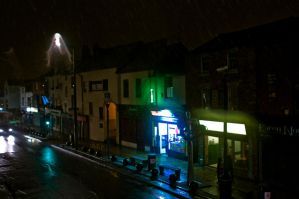 Snowing in Preston by noxpop