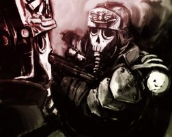 Death Korps by canadianxeno