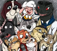 Bad Guy Cafe Group Picture by Ziegelzeig