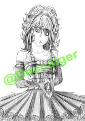 Gothic Girl - Not finished by descaiger