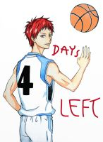 KnB Countdown 4 days left! by kurobas