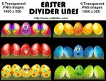 Easter Dividers by nutkitten
