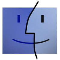 Old School Finder Icon by marcello-c