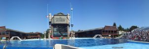 Sea World CA panoramic by Frosty-Orca