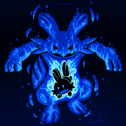 The Waterkip within - Mudkip and Swampert by SarahRichford