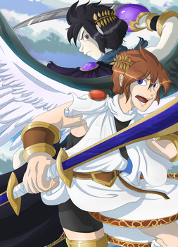 [GIFT] Kid Icarus by Kayra-Wolfy
