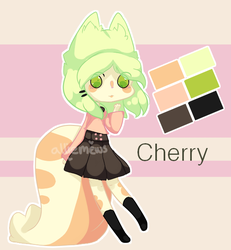 Cherry - Character Design by alliemews