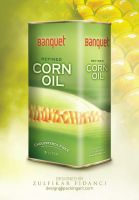 Banquet CornOil Packaging by byZED