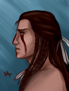Long-haired Connor by CherrySUN93