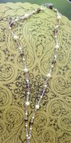 Faux Pearl Necklace by Valley-of-Egeria