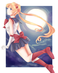 Sailor Moon by Min-Jeungi