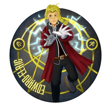 Edward Elric by HerbalJabbage
