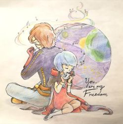 You are my freedom by BlackQuillPen