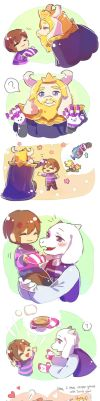Undertale- gifts 02 by christon-clivef