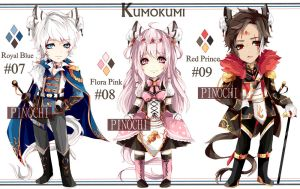KUMOKUMI Adopt #04 Auction [CLOSED] by pinochu