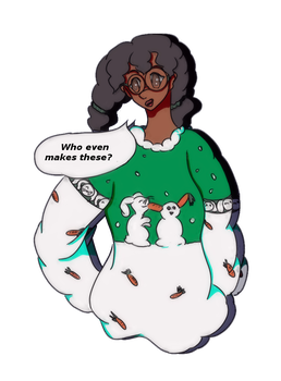 CPS - Ugly Sweater Emma by sweetsweetsunshines