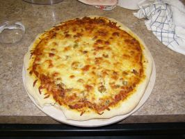 Home made Pizza by Des804