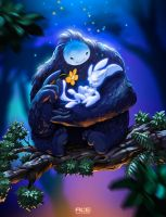 Ori and the Blind Forest by DanteFitts