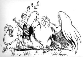 Audition to a Griffon by Rankin-Bass-R-Us