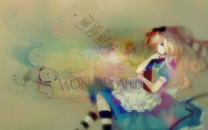 Alice in Wonderland by talline-occrerou